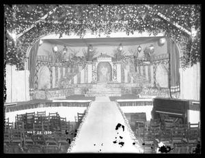 Coronation Stage, [coronation stage?]; Maifest 1930