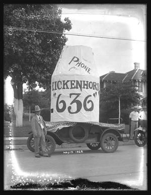 "Primary view of object titled '[Eickenhors ""636"" Float]'."