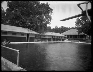 Primary view of object titled '[View of Unidentified Swimming Pool]'.