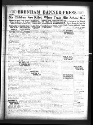 Primary view of Brenham Banner-Press (Brenham, Tex.), Vol. 50, No. 224, Ed. 1 Thursday, December 14, 1933