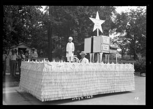 Primary view of object titled '[Maifest Parade Float]'.