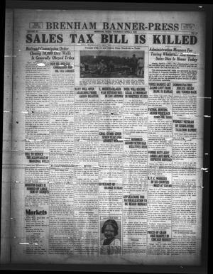 Brenham Banner-Press (Brenham, Tex.), Vol. 50, No. 10, Ed. 1 Thursday, April 6, 1933