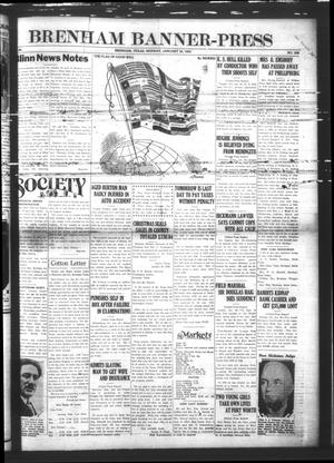 Primary view of object titled 'Brenham Banner-Press (Brenham, Tex.), Vol. 44, No. 258, Ed. 1 Monday, January 30, 1928'.