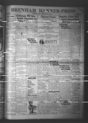 Brenham Banner-Press (Brenham, Tex.), Vol. 43, No. 10, Ed. 1 Thursday, April 8, 1926