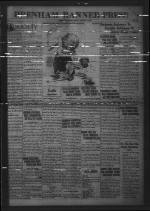 Brenham Banner-Press (Brenham, Tex.), Vol. 44, No. 110, Ed. 1 Friday, August 5, 1927