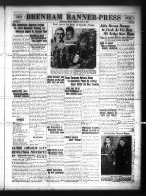 Brenham Banner-Press (Brenham, Tex.), Vol. 53, No. 109, Ed. 1 Monday, August 3, 1936