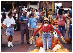 Primary view of object titled '[Halloween Season at the Dallas Farmer's Market]'.