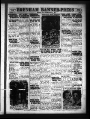 Primary view of Brenham Banner-Press (Brenham, Tex.), Vol. 53, No. 186, Ed. 1 Saturday, October 31, 1936