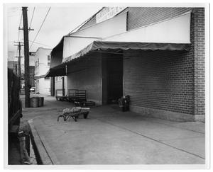 Primary view of object titled '[Loading Dock]'.