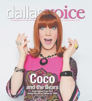 Primary view of Dallas Voice (Dallas, Tex.), Vol. 35, No. 45, Ed. 1 Friday, March 15, 2019