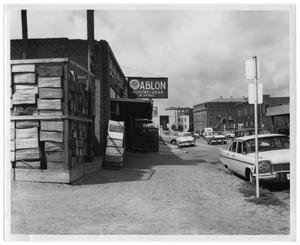 Primary view of object titled '[Ablon Poultry & Egg Co. Storefront]'.
