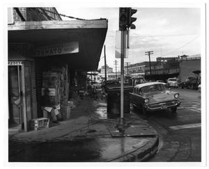 Primary view of object titled '[Fain Produce Storefront]'.
