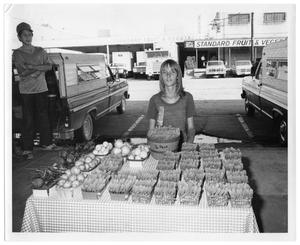 Primary view of object titled '[Vegetable Stall]'.