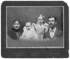 Primary view of object titled 'Portrait of Greer Family'.