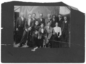 Primary view of object titled 'Portrait of Stutlz Family'.