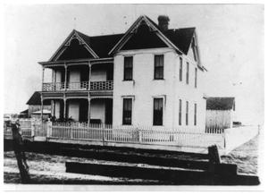 Primary view of object titled 'George W. Huffhines Home'.