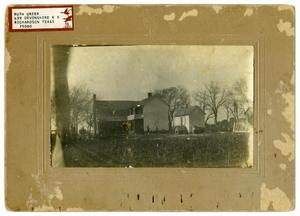 Primary view of object titled 'John Huffhines Home'.