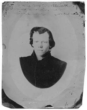 Primary view of object titled 'Portrait of William Baxter Blewett'.
