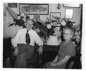 Portrait of Uncle Sam and Aunt Jane