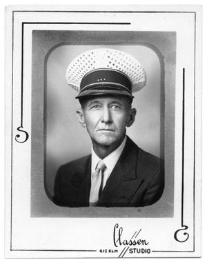 Primary view of object titled 'Portrait of John B. Jordan, Fire Chief'.