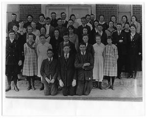 Primary view of object titled 'Richardson School Class of 1920'.