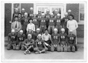 1939 Richardson High School Football Team