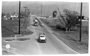Primary view of object titled 'Arapaho Road at U. S. 75'.