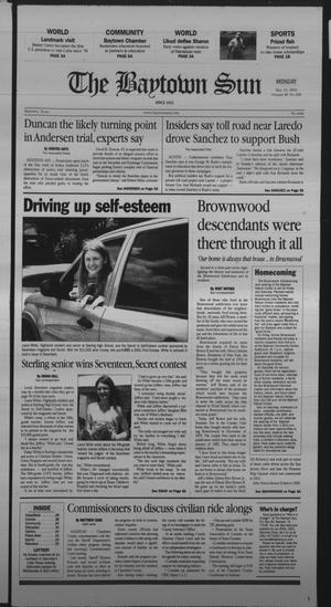 Primary view of The Baytown Sun (Baytown, Tex.), Vol. 80, No. 168, Ed. 1 Monday, May 13, 2002