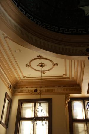 Primary view of object titled '1891 Colorado County Courthouse Interior Ceiling'.