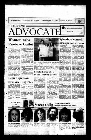 Primary view of The Cleveland Advocate (Cleveland, Tex.), Vol. 63, No. 43, Ed. 1 Wednesday, May 26, 1982