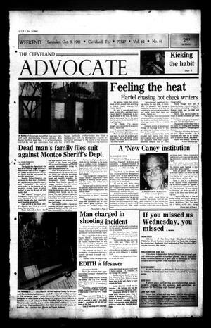 Primary view of The Cleveland Advocate (Cleveland, Tex.), Vol. 62, No. 80, Ed. 1 Saturday, October 3, 1981