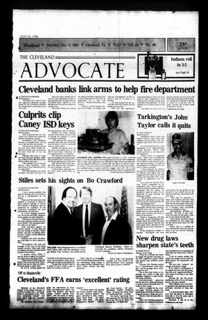 Primary view of The Cleveland Advocate (Cleveland, Tex.), Vol. 62, No. 98, Ed. 1 Saturday, December 5, 1981