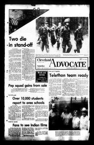 Primary view of Cleveland Advocate (Cleveland, Tex.), Vol. 62, No. 72, Ed. 1 Saturday, September 5, 1981