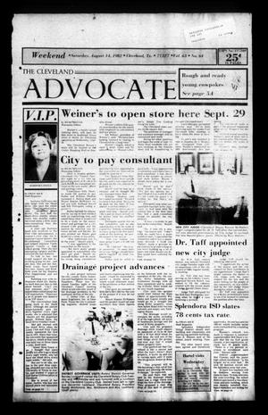 Primary view of The Cleveland Advocate (Cleveland, Tex.), Vol. 63, No. 66, Ed. 1 Saturday, August 14, 1982