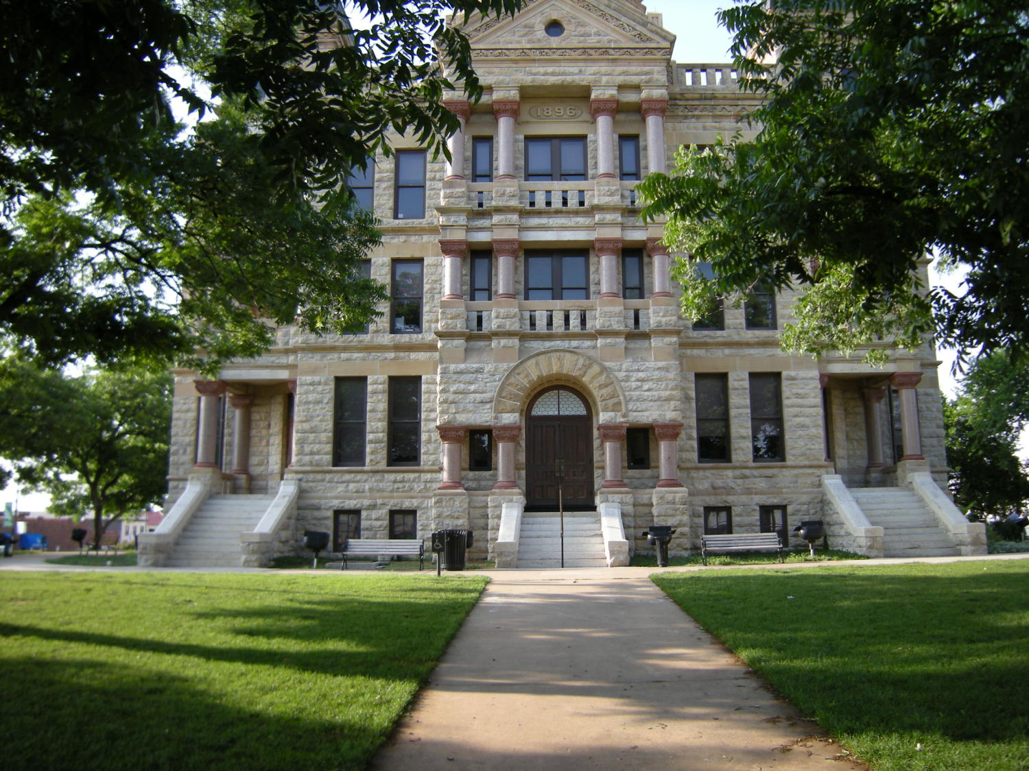 1896 Denton County Courthouse South Side                                                                                                      [Sequence #]: 1 of 1