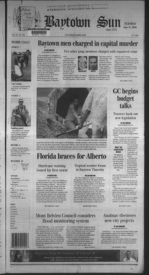 Primary view of The Baytown Sun (Baytown, Tex.), Vol. 85, No. 214, Ed. 1 Tuesday, June 13, 2006