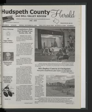 Primary view of object titled 'Hudspeth County Herald and Dell Valley Review (Dell City, Tex.), Vol. 55, No. 6, Ed. 1 Friday, December 24, 2010'.