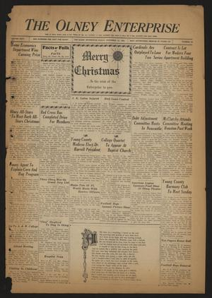 The Olney Enterprise (Olney, Tex.), Vol. 24, No. 38, Ed. 1 Friday, December 22, 1933
