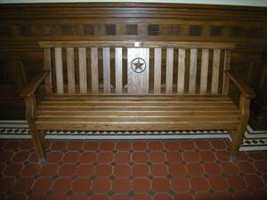 Primary view of object titled '[Wooden Bench]'.