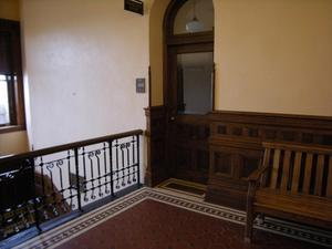 Primary view of object titled '[Inside Courthouse]'.