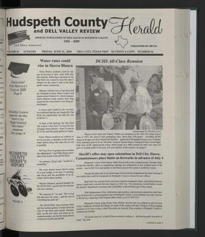 Primary view of Hudspeth County Herald and Dell Valley Review (Dell City, Tex.), Vol. 53, No. 36, Ed. 1 Friday, June 12, 2009