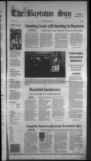 Primary view of object titled 'The Baytown Sun (Baytown, Tex.), Vol. 86, No. 44, Ed. 1 Tuesday, January 9, 2007'.