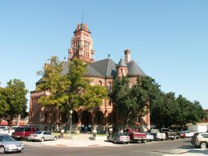 Primary view of object titled '1895 Ellis County Courthouse Full View'.