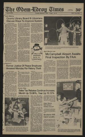 The Odem-Edroy Times (Odem, Tex.), Vol. 41, No. 50, Ed. 1 Thursday, December 13, 1990