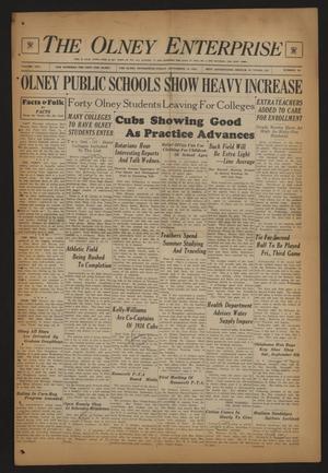 The Olney Enterprise (Olney, Tex.), Vol. 25, No. 24, Ed. 1 Friday, September 14, 1934