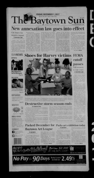 Primary view of The Baytown Sun (Baytown, Tex.), Vol. 97, No. 241, Ed. 1 Friday, December 1, 2017