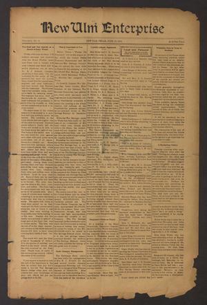 Primary view of New Ulm Enterprise (New Ulm, Tex.), Vol. 8, No. 36, Ed. 1 Thursday, June 13, 1918