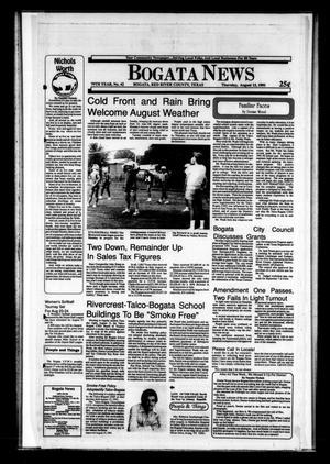 Primary view of Bogata News (Bogata, Tex.), Vol. 79, No. 42, Ed. 1 Thursday, August 15, 1991
