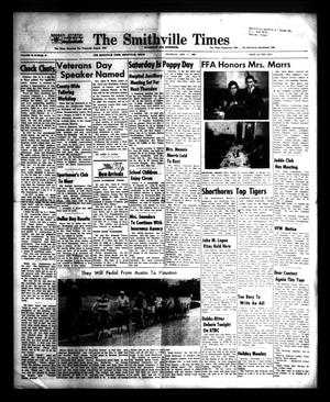 Primary view of The Smithville Times Transcript and Enterprise (Smithville, Tex.), Vol. 72, No. 45, Ed. 1 Thursday, November 7, 1963