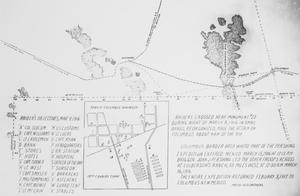Primary view of object titled 'Raid on Columbus, New Mexico and the Punitive Expedition into Mexico, 1916-1917. Map'.